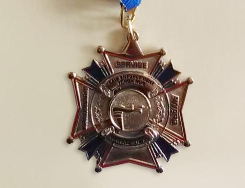 Medal za25-letnią działalność